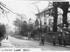 Trays Hill Hall estate Hornsey Lane 1905