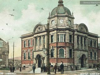 Wood Green Public Library, 1908
