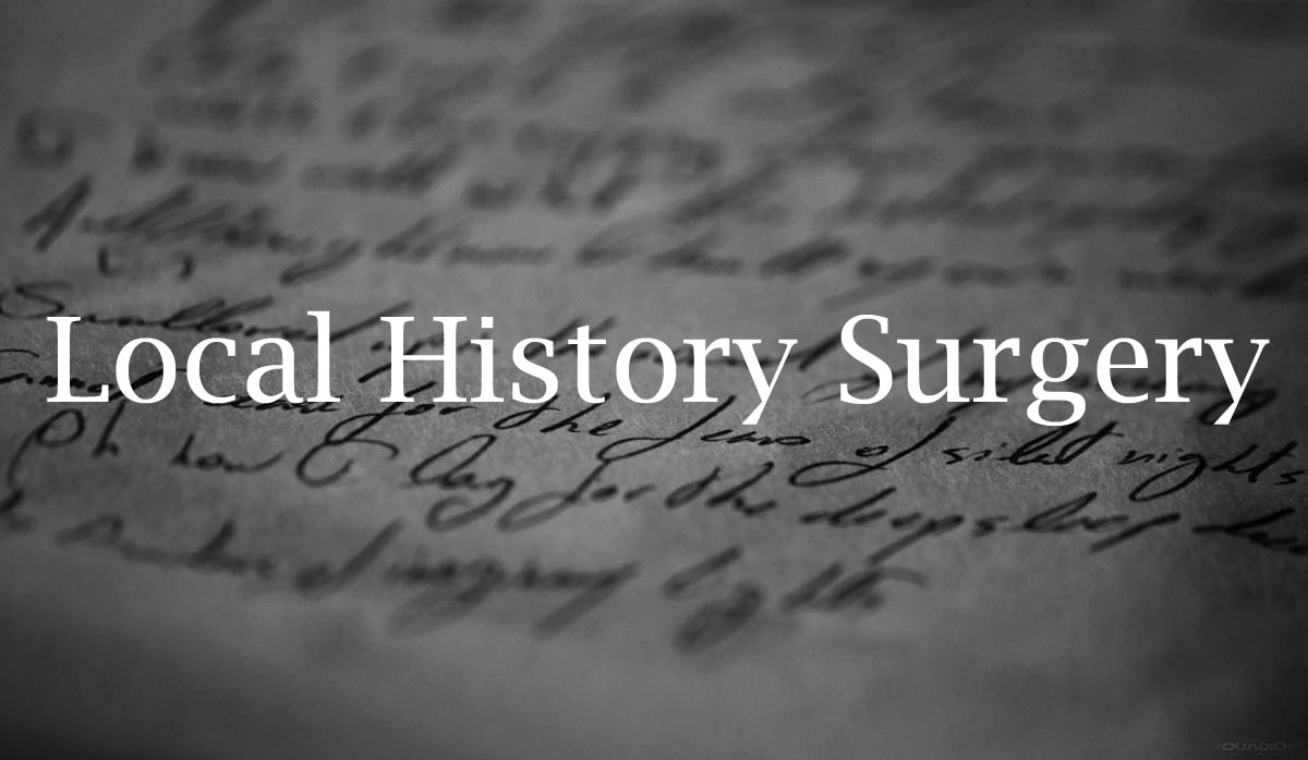 Public Local History Surgery