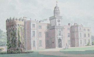 Bruce Castle Museum painted by Richard Gough