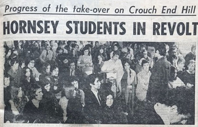 Hornsey Journal 31 May 1968 headline