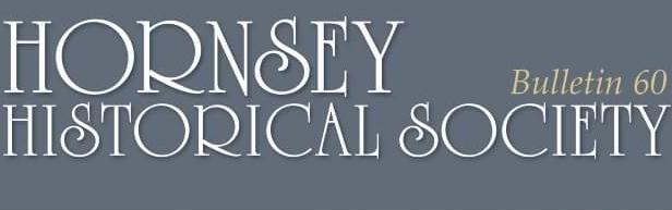 Hornsey Historical Society Bulletin 60 masthead