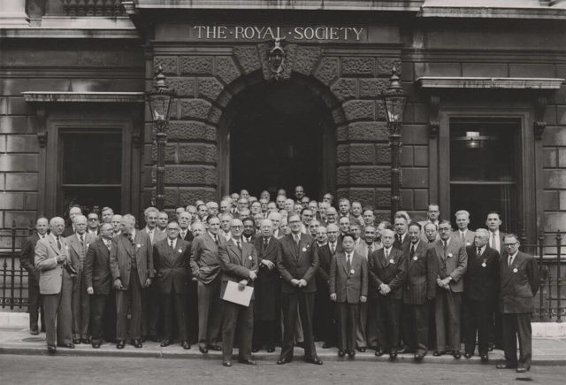 The Royal Society London 1952