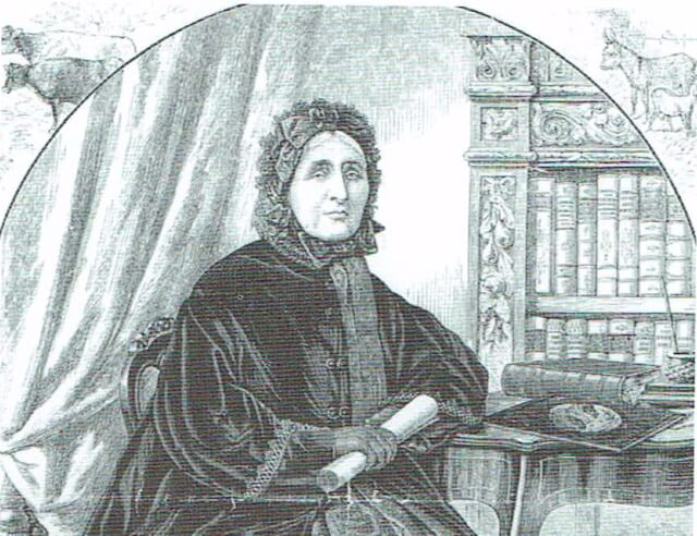 Drawing of Mrs Smithies